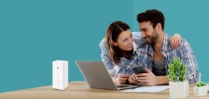 Huawei B618s-65d 4G LTE 4G LTE Band 1/3/5/7/8/28/40 (FDD 700/850/900/1800/2100/2600MHz & TDD 2300MHz) VoIP Wireless Gateway Router